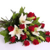 Funeral bouquet of roses-thumbnail
