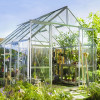 Greenhouse HALLS MAGNUM 9,9 M² with safety glass, aluminum-thumbnail