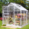 Greenhouse HALLS POPULAR 3.8 M² with polycarbonate sheets-thumbnail