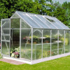 Greenhouse HALLS POPULAR 6,2 M² with polycarbonate sheets-thumbnail