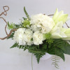 Bouquet of lilies and carnations low-thumbnail