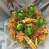Christmas arrangement with 5 hyacinths-thumbnail