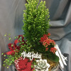 Winter touch Christmas arrangement-thumbnail
