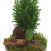 Christmas flower arrangement of hyacinth-thumbnail