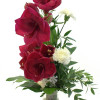 Wine red amaryllis bouquet-thumbnail