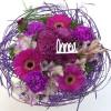 Violet congratulations bouquet-thumbnail