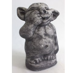 Troll statue, nose picker, big-thumbnail