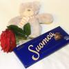 Rose, chocolate and teddy bear-thumbnail