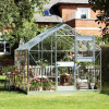 Greenhouse JULIANA JUNIOR with 8.3 M² glass, aluminum frame-thumbnail