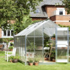 Greenhouse JULIANA JUNIOR 12.1 M² with polycarbonate sheets, aluminum frame-thumbnail