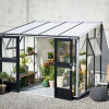 Greenhouse JULIANA VERANDA 6,6 M² with safety glass-thumbnail
