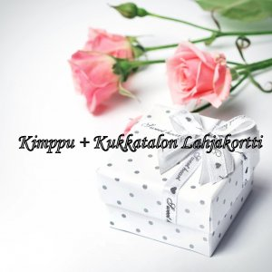 Christmassy flower bouquet + Gift card T_PRODUCT_IMAGE
