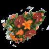 Autumnal funeral bouquet-thumbnail