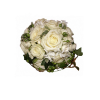 Light bridal bouquet of roses-thumbnail