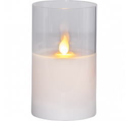 LED Pillar Candle M-Twinkle LED kynttilä Tuotekuva