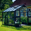 Greenhouse JULIANA PREMIUM 8.8 M² with safety glass, anthracite/black color-thumbnail