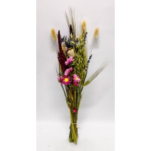 Grainy and pink shaped bunch of dried flowers T_PRODUCT_IMAGE